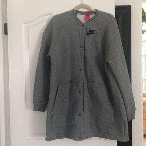 Nike sweatshirt jacket szXL never worn only washed